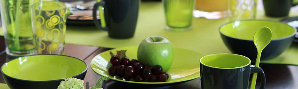 Greyline-Lime Becher