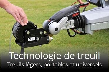 Treuils mobiles cara-TREK pour l'attelage de remorque