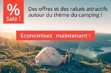 Économisez de l'argent avec les offres d'accessoires de camping