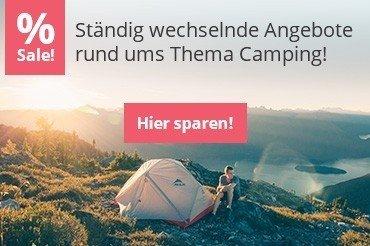Geld sparen mit Angeboten aus Camping Zubehör